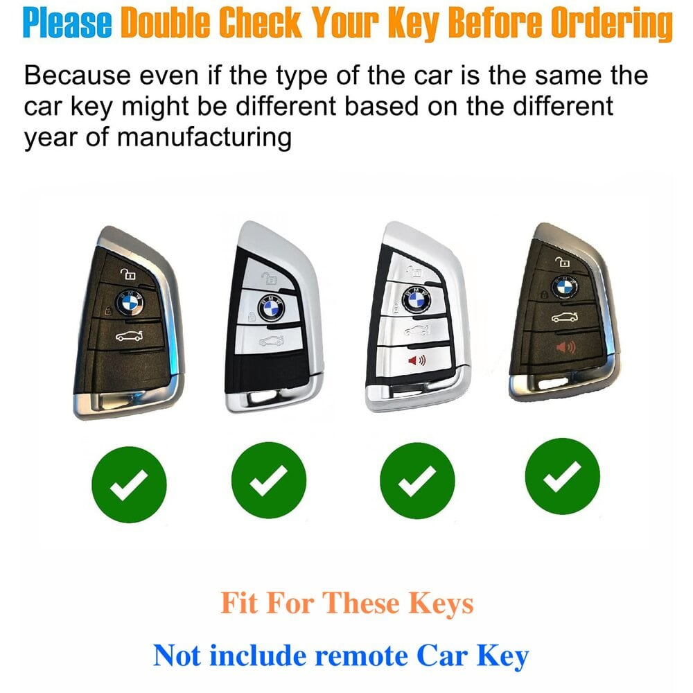 Protective Silver Car Key Cover Case For BMW High Quality TPU Soft Plastic